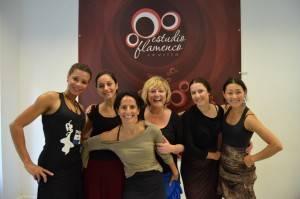Curso Master Class de Mercedes Ruiz en Estudio Flamenco Sevilla