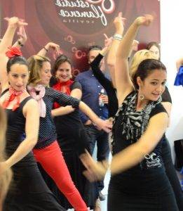 Baile flamenco en verano 2016