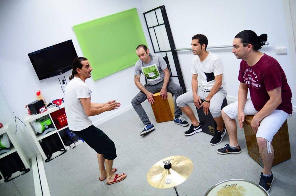 clases de percusión flamenca
