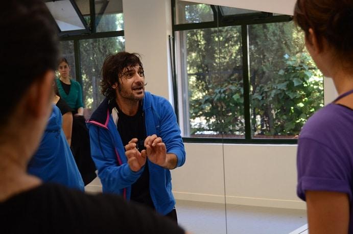 Joaquín Grilo en Estudio Flamenco Sevilla