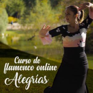 Alegrías curso de flamenco online