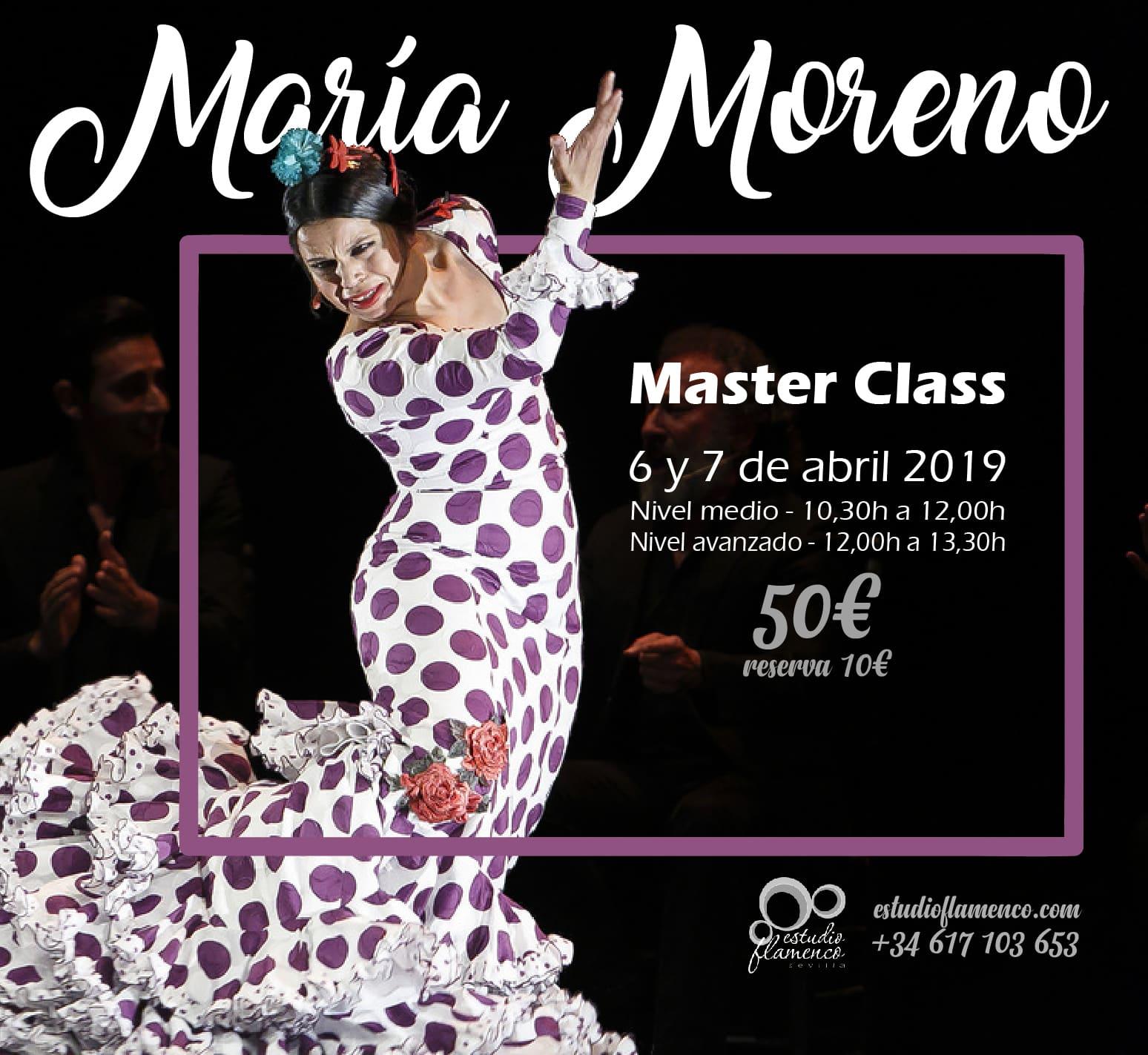María Moreno Master Class