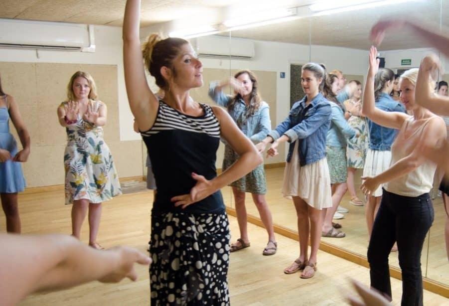 Despedida de soltera y clases de flamenco