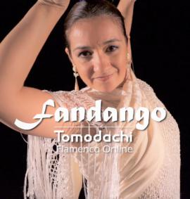 Coreografía por fandango con mantón