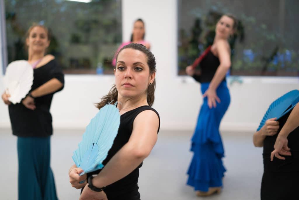 Clases de flamenco nivel profesional