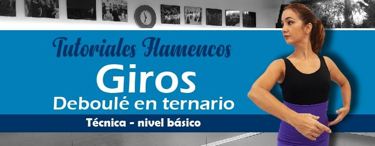 giros en flamenco