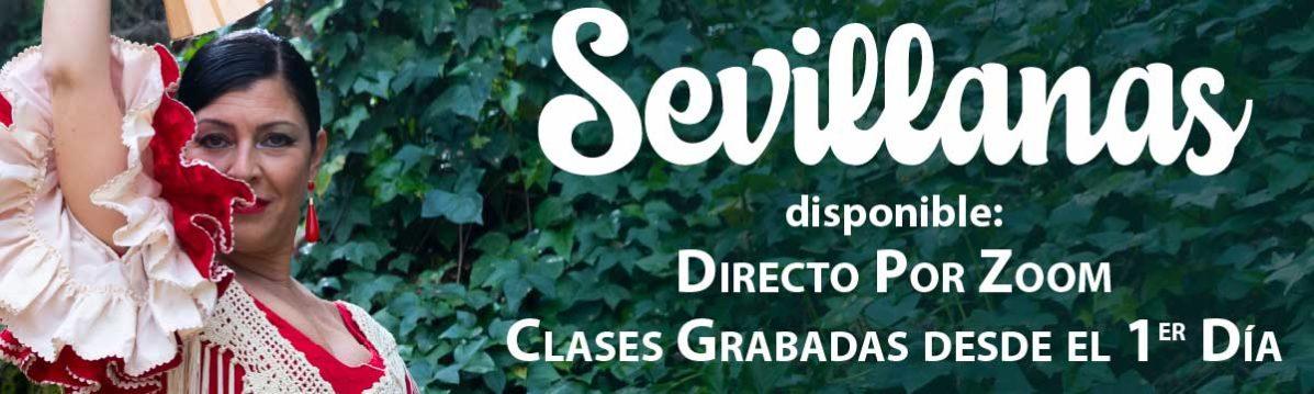 Sevillanas por zoom